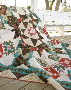 Secrets and Shadows, a new quilt block of the month program