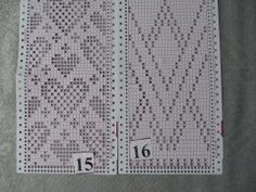 Heart Fair isle pattern
