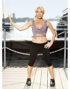 tracy anderson workout! Killer, trust me I did it today and about died! Whewww! Tracy Anderson rocks!