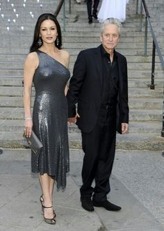 Michael Douglas y  Catherin Zeta Jone