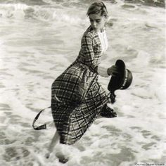 Edie Sedgwick on Fisher's Island 1964