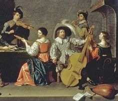 Jan Hermansz van Bijlert (Dutch painter, c 1597–1671) Musical Company