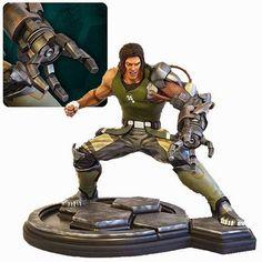 BLOG DOS BRINQUEDOS: Bionic Commando Nathan Spencer Rad 1: 4 Scale Stat...