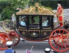 Royal Carriage used at Prince Williams Wedding