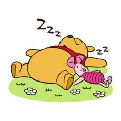 Pooh Friends Chat Sticker