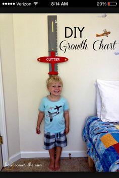 Growth chart idea