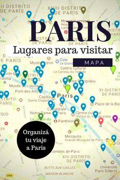 Mapa descargable de los mejores lugares para visitar en Paris. Plan paris. recorrido paris.  #paris #viajaraparis #mapaparis #atraccionesparis #parisportucuenta #primeravezenparis #viajaraeuropa #viajeaparis #viajeaeuropa #parisportucuenta #europaportucuenta Francia Paris, Story Of The World, Adventurer, Trip Planning, Passport, Letting Go, Travelling, Travel Tips, Places To Go