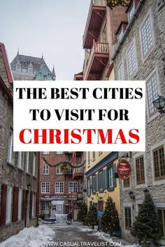 Wondering Where To Travel For Christmas? From Scandinavia To Mexico Discover The Best Cities To Visit For Christmas And The Holiday Season. The Best Cities To Visit For Christmas Solo Travel Tips, Travel Goals, Travel Advice, Travel Guides, Christmas Travel, Holiday Travel, Christmas Christmas, Christmas Markets, Xmas