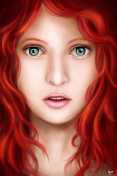 redhead by pop2nd.deviantart.com on @DeviantArt