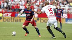 """Sevilla FC v FC Barcelona (3/10/2015). Ivan Rakitic : """"It hurts to lose like this; we had a lot of chances."""" """"We have to pick ourselves up, every team has their lows."""" """"We've won everything and it's normal that everyone goes hard against [us]."""" 
