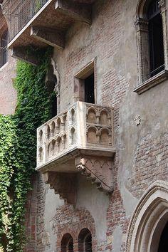 Italy, Verona, Julliet's home