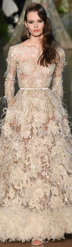 Elie Saab Spring 2015 Couture. And gotta love those pockets!