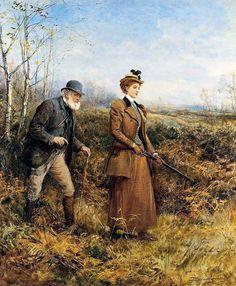 The Gun Shot Heywood Hardy (1842-1933)