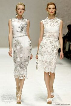 Dolce Gabbana Spring/Summer 2011 ready-to-wear dresses