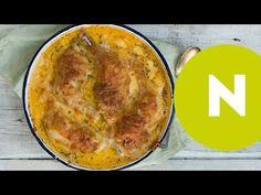 Tejfölben sült csirkecombok - YouTube
