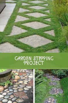 Amazing DIY Garden Stepping Stone Ideas #gardenstones Garden Steps, Easy Garden, Diy Garden Decor, Home And Garden, Amazing Gardens, Beautiful Gardens, Garden Stepping Stones, Yard Landscaping, Garden Design