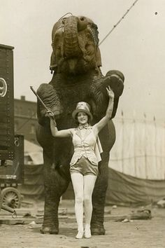 Female Elephant Trainer