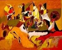 Aishlle Gorky (1948) Pintor de origen Armenio. Esecialmente era autodidacta, en 1926 enseñó pintura en el Grand Central School of Art.