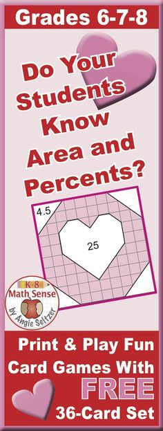 What percent of each square is shaded? Kids of all languages and abilities will enjoy these matching games.