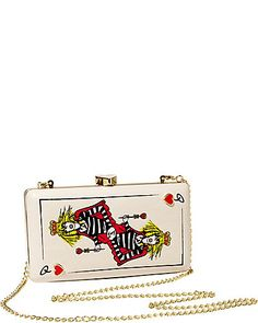 Not sure where I would use this handbag but I think I need a Queen of Hearts bag
