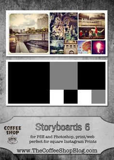 Free storyboard, great for Instagram
