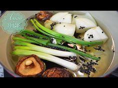 Ultimate Korean Stock : Basic Korean Stock Recipe for All Korean Food 만능육수 - YouTube