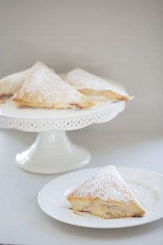 Poached Pear & Fresh Ricotta Turnovers - beautifully illustrated step-by step recipe.