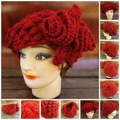 Crochet Pattern Crochet Hat Pattern KAREN Crochet Beret Hat Pattern 5.00 USD http://ift.tt/1HUQ6GL  by strawberrycouture (5.00 USD) http://ift.tt/1HUQ6GL