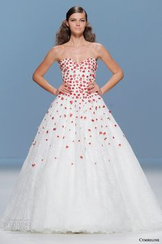 Cymbeline Bridal 2015 — Colored Wedding Dresses | Wedding Inspirasi