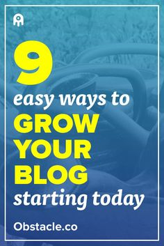 What's up?! Looking for easy ways to grow your blog today? Here are 9 ways to grow your blog without breaking a sweat. Growing a blog will help you sleep well at night. Like a baby. Seriously.