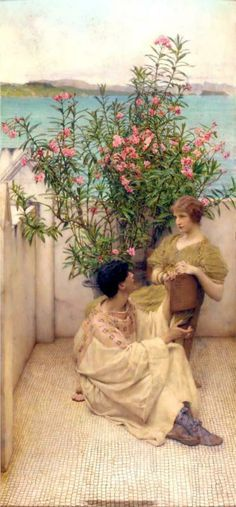 Courtship - Sir Lawrence Alma-Tadema