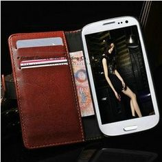 Cheap leather case for, Buy Quality leather card case directly from China leather case mobile Suppliers:                         Retro Wallet case for Samsung GALAXY Note II  with card holder   Fuction:    Wall