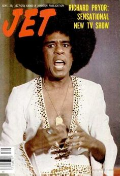 Richard Pryor on the cover of Jet magazine, September 1977.