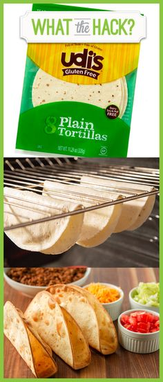Make your own crispy #glutenfree taco shells with Udi\'s tortillas! #WhatTheHack