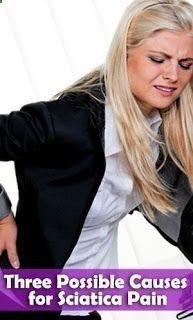 Sciatica Exercises | Three Possible Causes for #Sciatica Pain | #sciatica_treatment #sciatica_relief #sciatic_nerve_relief #treatment_for_sciatica #sciatic_nerve_pain_relief #sciatica_cure #howtotreat_sciaticahttp://spanishsciaticasos.blogspot.com.co/