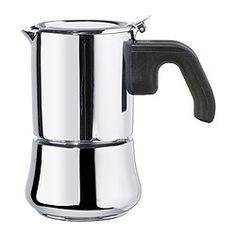 RÅDIG Espressopot voor 3 kopjes, roestvrij staal - espressopot voor 3 kopjes - IKEA