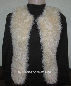 Celeida Artes em Fios: Colete de tricô - com receita