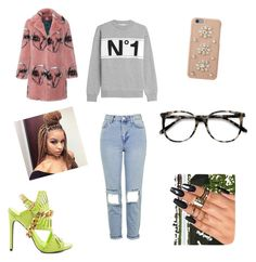 """""""Fun"""" by hangerson on Polyvore featuring Être Cécile, Privileged, Topshop, MICHAEL Michael Kors and Ace"""