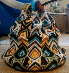(( Projects )) Macrame Pouch Tutorial