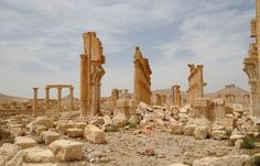 Russian delegation in Syria's ancient Palmyra marks liberation from Islamic State - The Washington Post Palmyra, The Washington Post, Syria, Middle East, Monument Valley, New York Skyline, United States, World, City