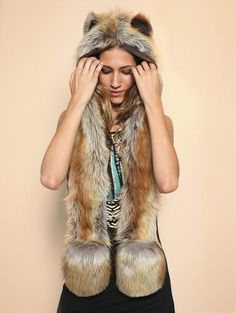 I can never have too many Spirithoods! Red Fox SpiritHood