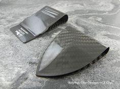 Billetus v Z CLIP Better money clip, carbon fiber, carbon fiber money clip