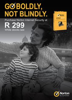 Norton Advert | I.C by Sinead Queiroz Fourie, via Behance Go Boldly, Norton Internet Security, Antivirus Software, Behance, Photography, Life, Design, Photograph, Fotografie