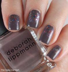 deborah lippmann Love in the Dunes and Orly Glitterbomb