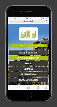 Lancement du site DLJ SYNDIC | Acreat Web Technologies Presentation, Electronics, Phone, Rocket Launch, Technology, Telephone, Mobile Phones, Consumer Electronics