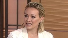 Hilary Duff opens up to The Today Show team about her role on TV Land's comedy-drama series Younger.