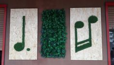 #syntheticgrass #note #musicalnote #outdoordecor