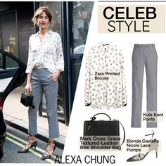 A fashion look from October 2014 featuring Zara blouses, Bionda Castana pumps and Mark Cross shoulder bags. Browse and shop related looks.
