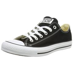 Converse Chucks All Star Leather Ox 132174C Black Schuhe Sneaker Unisex Schwarz