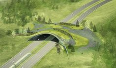 Balmori Associates' proposal to build cheap animal-crossing structures over highways could relieve some of the burden.